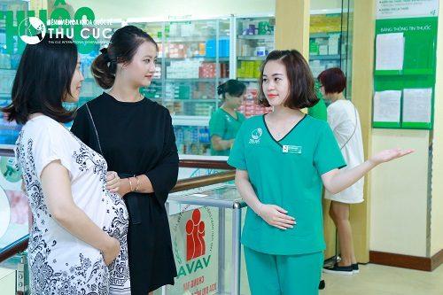 Bệnh viện Đa khoa Quốc tế Thu Cúc là địa chỉ khám thai được nhiều chị em tin tưởng lựa chọn.