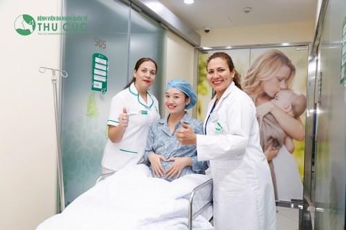 Chăm sóc sau sinh ở phòng khám Thu Cúc
