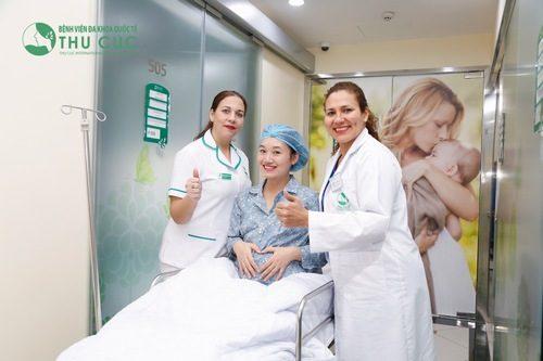 Sử dụng kĩ thuật gây tê màng cứng giúp mẹ bớt căng thẳng