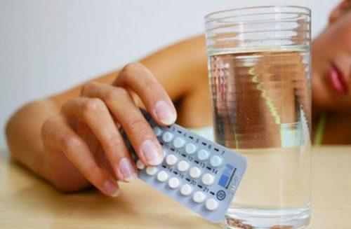 Tránh dùng thuốc tránh thai, vì chúng gây ra những tác dụng phụ làm kích thích sự phát triển của khối u nang.