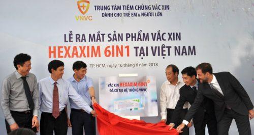 Lần đầu có vắc-xin Hexaxim 6 trong 1 thế hệ mới tại Việt Nam