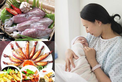 sau sinh mổ mẹ cần được bổ sung chất dinh dưỡng