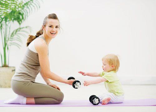 Tập luyện nhẹ nhàng sau sinh mổ hồi phục sức khỏe