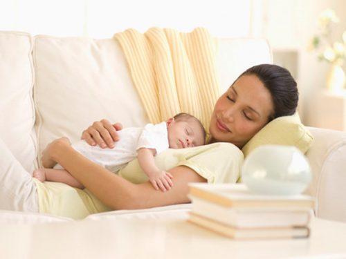 Có nhiều chị em, sản dịch kéo dài trong thời gian khoảng 45 ngày sau khi sinh.